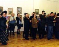 Открытие выставки «Подкупольное злато над Турой». Екатеринбургский музей изобразительных искусств, 2003 год