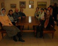 Открытие выставки «Звон, застывший в тишине». Галерея Храма на крови, г.Екатеринбург, 2007 год