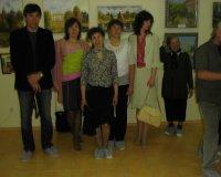 Открытие выставки «По демидовским местам». Демидовский центр, г. Ревда, Свердловская область, 2008 год