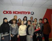 Открытие выставки «Из цветной палитры художника». Галерея СКБ Контура, г.Екатеринбург, 2012 год